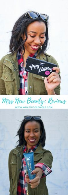 Lifestyle blogger reviews her new beauty products from Lancer, NYX Cosmetics, Urban Decay, Deborah Lippmann and more! Plus products to try out this fall!