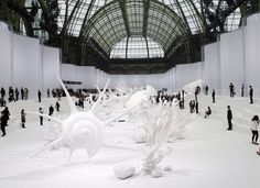 Chanel Show in Paris at the Grand Palais