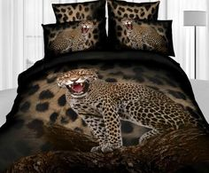 Leopard Print Styling Bedding Set