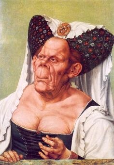 Quentin Massys (1465-1530) - The Ugly Duchess