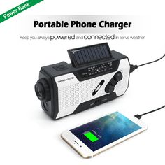 Power bank for charging you phone in power outage.