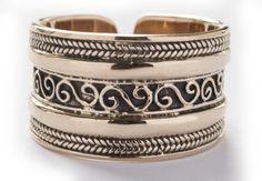 Offener Wikinger Ring ~ AYRIN ~ Bronze