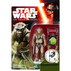 STAR WARS THE FORCE AWAKENS : JUNGLE / SPACE 2016 WAVE 1 - HASSK THUG 10cm