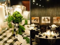 libby kevin preppy wedding black green details snippet