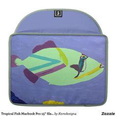 "Tropical Fish Macbook Pro 15"" Sleeve"