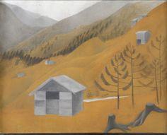 © Vlasta Vostřebalová Fischerová - Z Alp II (1923-24), soukromá sbírka