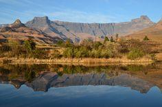 Drakensburg (Drakensberg) Amphitheatre, South #Africa
