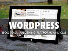 WordPress -- Gabe Hoggarth goes over the basics of publishing your original content to the web via WordPress.