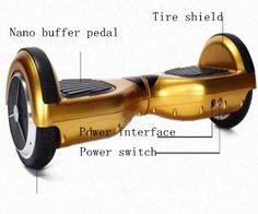6.5 Inches Somatosensory Electronic Twisting Balance Car| Buyerparty Inc.