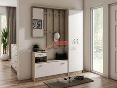 Előszobafalak   Vira előszobafal   Nappali, konyha, hálószoba berendezés   Reális Bútor Kft. Bútor Webáruház