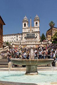 Alles über die Spanische Treppe auf Wikipedia