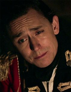 Turn's AMC. JJ Feild as Major Jean Andre. His facial expressions in mini series KILL me ahaha