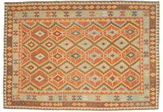 Kelim Afghan Old style teppe 208x291