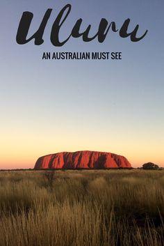Uluru: An Australian Must See      Australia Travel, Traveling Australia, Things to do in Australia, Australian Outback