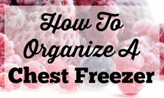 Here's a great post on how to organize a chest freezer.  It's a good way to make sure your coupon stockpile doesn't become a jumbled mess.