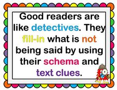 Inferencing and a Freebie #inferences #schema