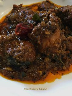 Chicken Ghee Roast Prima Kurien you are the ultimate star and Mallu Cuisine Diva ! Your Chicken Ghee Roast recipe was a smashing hit – for the first time… Chicken Snacks, Frozen Chicken Recipes, Cooked Chicken Recipes, Roast Recipes, Veg Recipes, Cooking Recipes, Keema Recipes, Chicken Recepies, Recipies