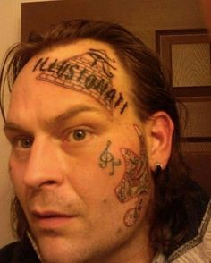 Tattoos Picdump 15 Funny Image from evilmilk. Tattoos Picdump 15 was added to the pictures archive on Tattoo Fails, Face Tattoos, Funny Tattoos, Worst Tattoos, Terrible Tattoos, Tattoo Gallery, Funny Couple Pictures, Photos Of The Week, Popular Tattoos