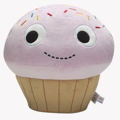 YUMMY Cupcake Plush 15-Inch Pink Edition   Kidrobot  #incy interiors #dream children's room