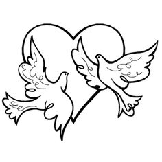 used this image in one of my pyrography projects wedding doves rh pinterest com