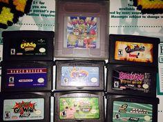 Gameboy Advance Game Lot. Crash Bandicoot Spyro The Dragon Warioland Fire Pro...