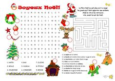 Mots cachés / labyrinthe Noël                                                                                                                                                                                 Plus
