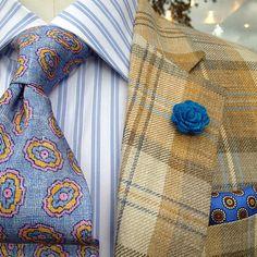 men's lapel flower // men's boutonniere // wedding lapel pin // wool felt lapel flower // blue raspberry