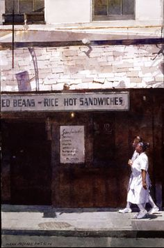 dean mitchell watercolor images