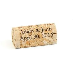 158 Best Personalized Wine Cork Place Card Holders Images In 2019