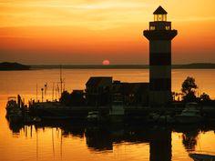 Famous Hilton Head, SC lighthouse
