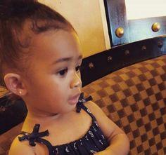 Royalty Brown Chris Brown daughter royalty beautiful little girl baby Brown royalty