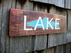 Hey, I found this really awesome Etsy listing at https://www.etsy.com/listing/166635502/lake-sign-hand-lettered-vintage-look