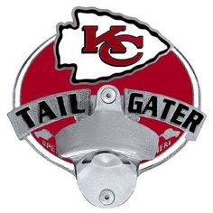 Kansas City Chiefs Tailgater Hitch Cover Class III