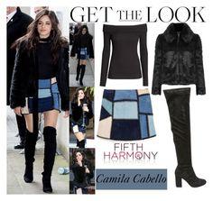 Camila Cabello Fifth Harmony arriving At BBC Radio 1 Studios in London. April.7.2016