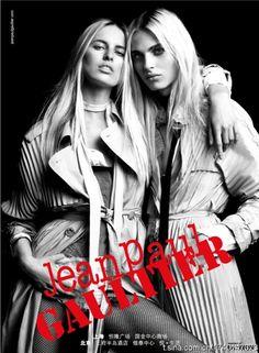 Karolina Kurkova & Andrej Pejic For Jean Paul Gaultier 2011
