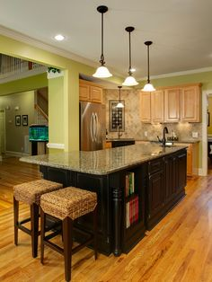 Traditional Kitchen Backsplash With Granite Countertops Design, Pictures,  Remodel, Decor And Ideas