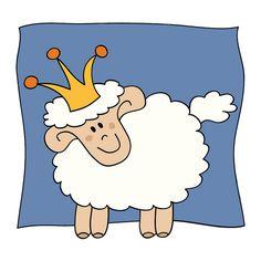 Prince Sheep by Cieleke, via Flickr