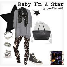 """Baby I'm A Star"" by jowilson69 on Polyvore"