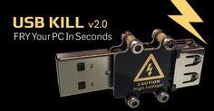 Pendrive USB Killer, aniquila el Hardware de una manera Silente