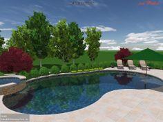 Custom Pool Design - Freeform