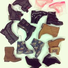 @wetseal | It's time to get #FallFeet ready and shop our amazing #tuesdaybootsday boots!