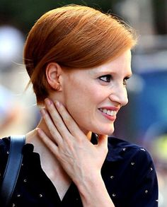 jessica chastain short hair - Google Search