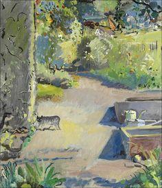 Cuno Amiet (1868-1961) Dans le jardin, 1934