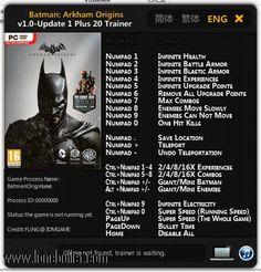 Трейнер для batman arkham origins скачать.