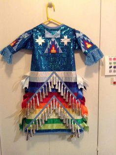 Native American Clothing, Native American Regalia, Native American Fashion, Dance Outfits, Dance Dresses, Jingle Dress Dancer, Powwow Regalia, Beaded Banners, Ribbon Skirts