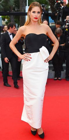 The Best of the 2015 Cannes Film Festival Red Carpet - Doutzen Kroes from InStyle.com