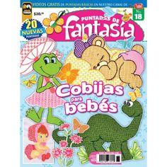 Revista Puntadas de Fantasía 18 - Cobijas para bebés - Formato Impreso