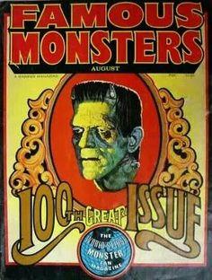 """FAMOUS MONSTERS MAGAZINE"" (1959)"