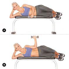 Lying Rotation. Target Muscles: infraspinatus, teres minor, posterior deltoid.