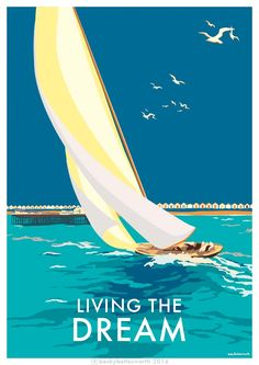 seaside posters available at www.beckybettesworth.co.uk